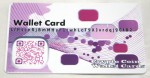 Purple/Pink Wallet Card Front