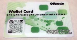 green litecoin paper wallet