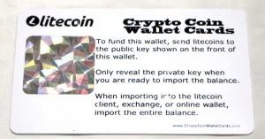Litecoin Private Key Hologram