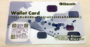 purple litecoin paper wallet